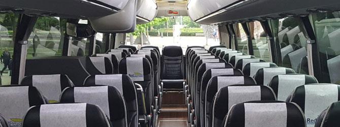 capacidad autobus