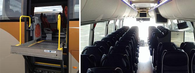 confort autobuses